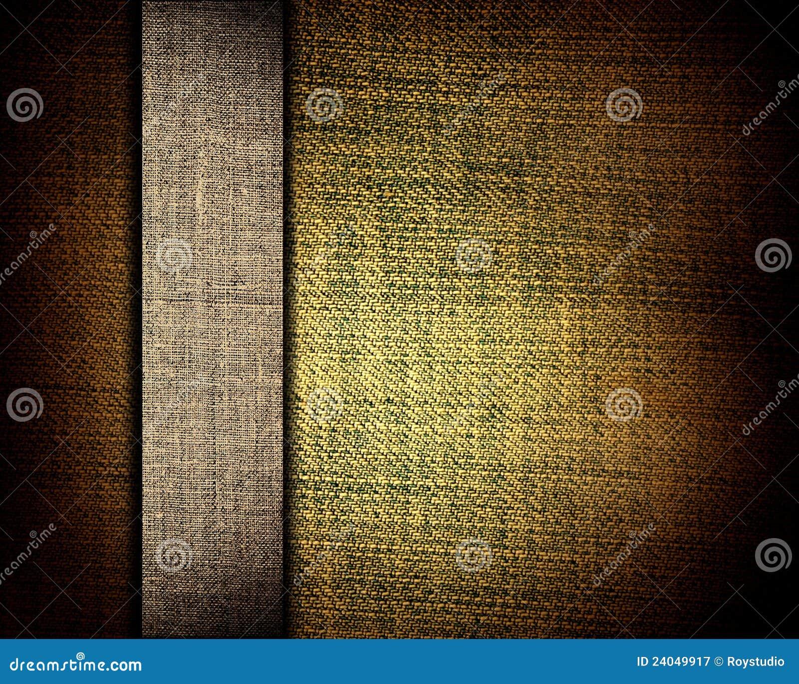 Brezentowa Brown tekstura i jako tło beżowy pasek
