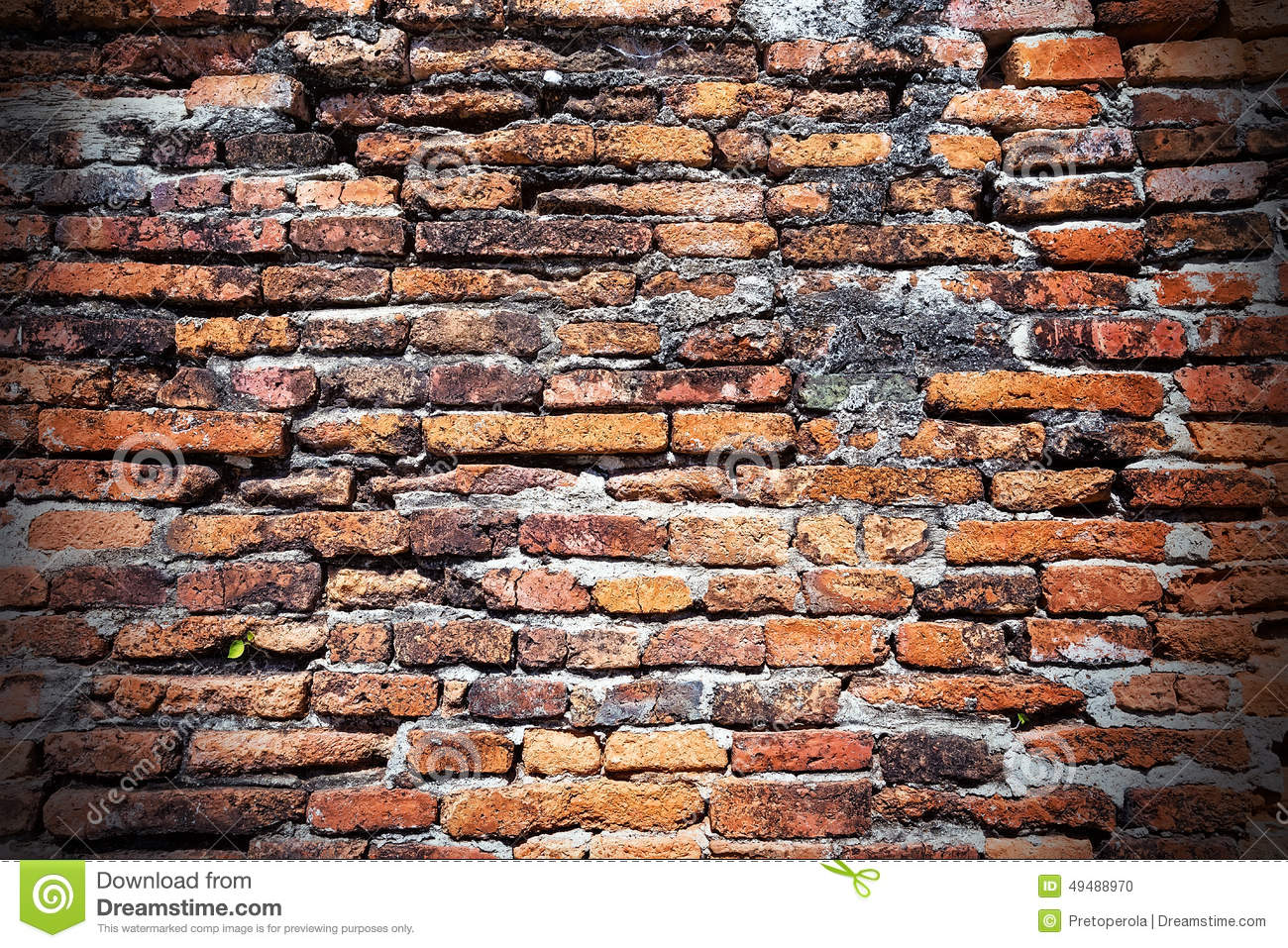 Brick background used for text and wallpaper stock photo for What to do with bricks