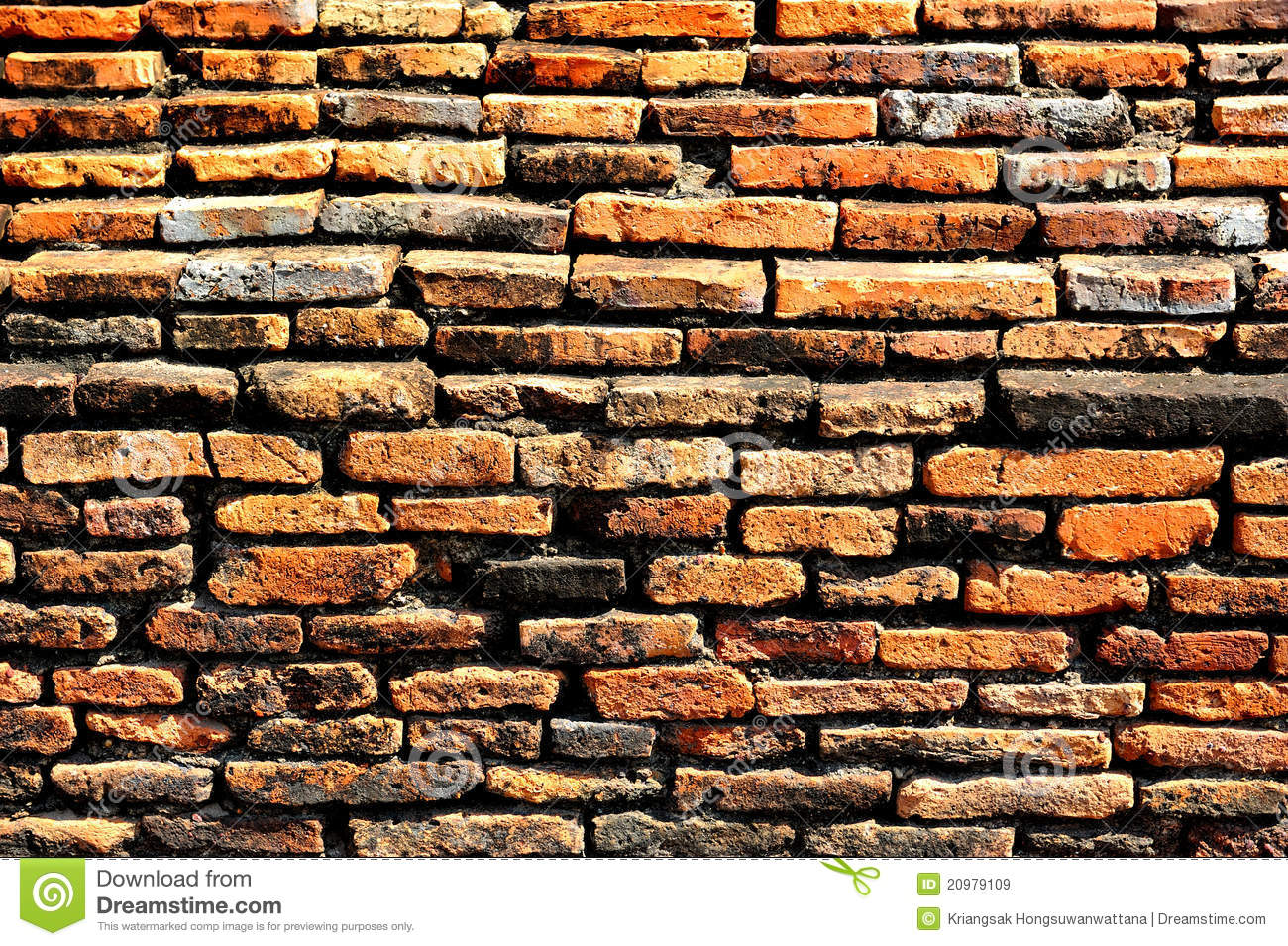 Brick Block Wallpaper Royalty Free Stock Images Image