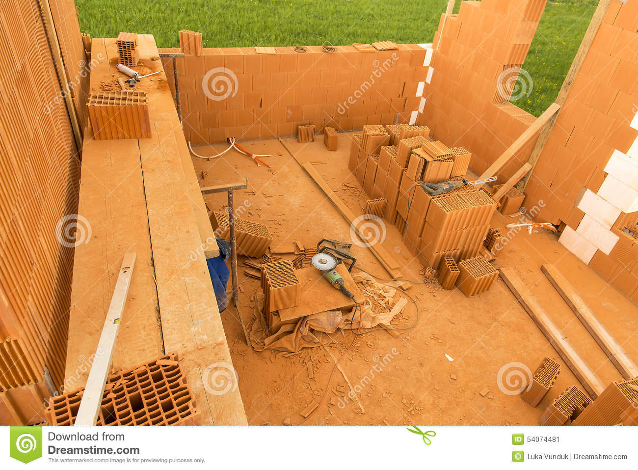 Brick by brick build a house on your own building a home for Contracting your own home