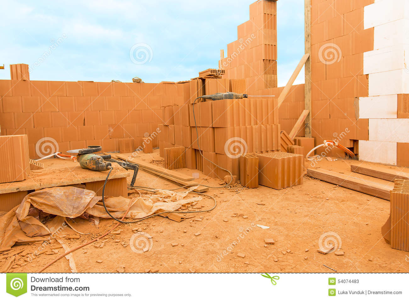 Brick by brick build a house on your own building a home for Build your own home website