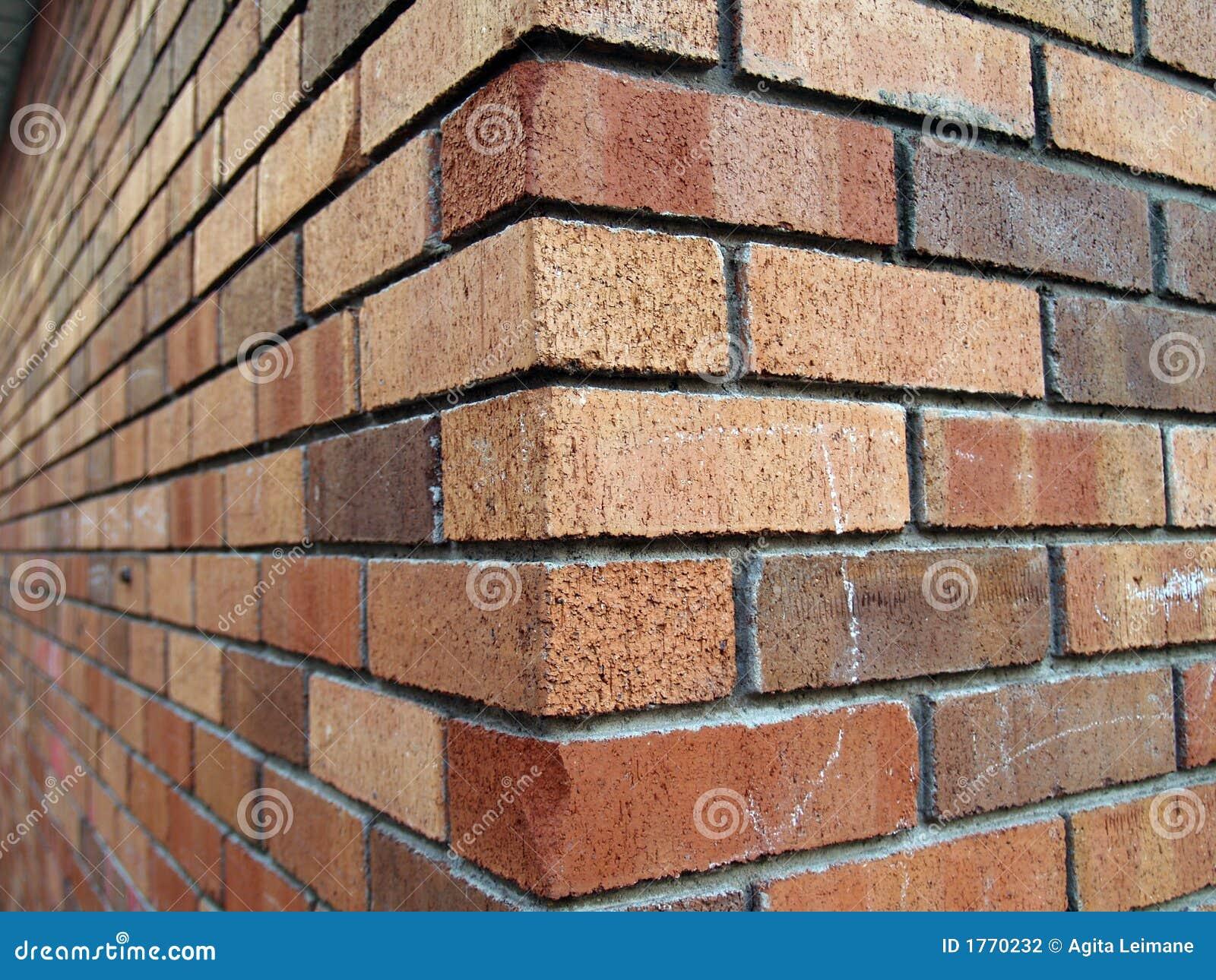 Brick Corner Stock Photo Image Of Decorative Color