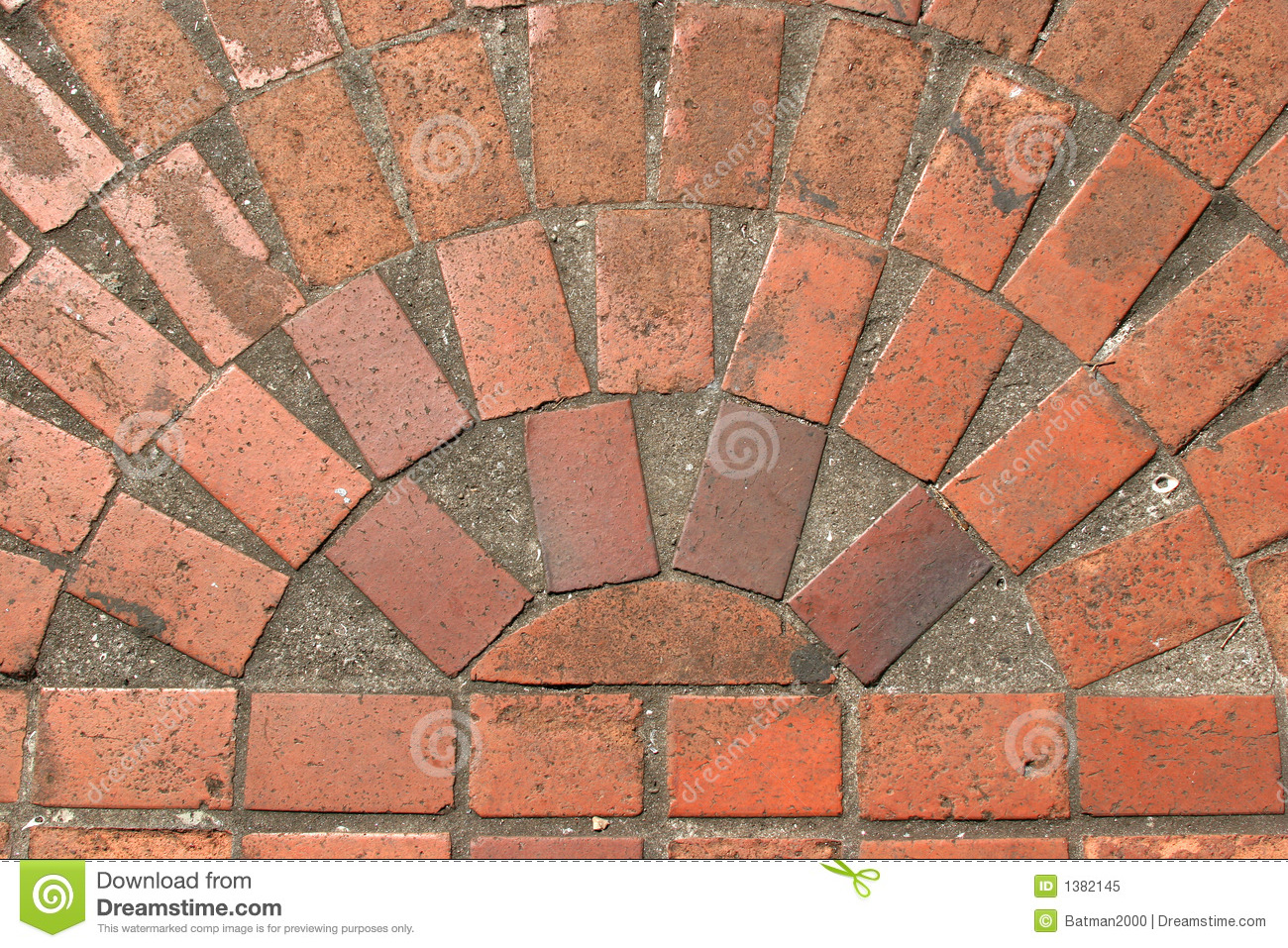 Brick Floor Design Stock Image Image Of Concrete