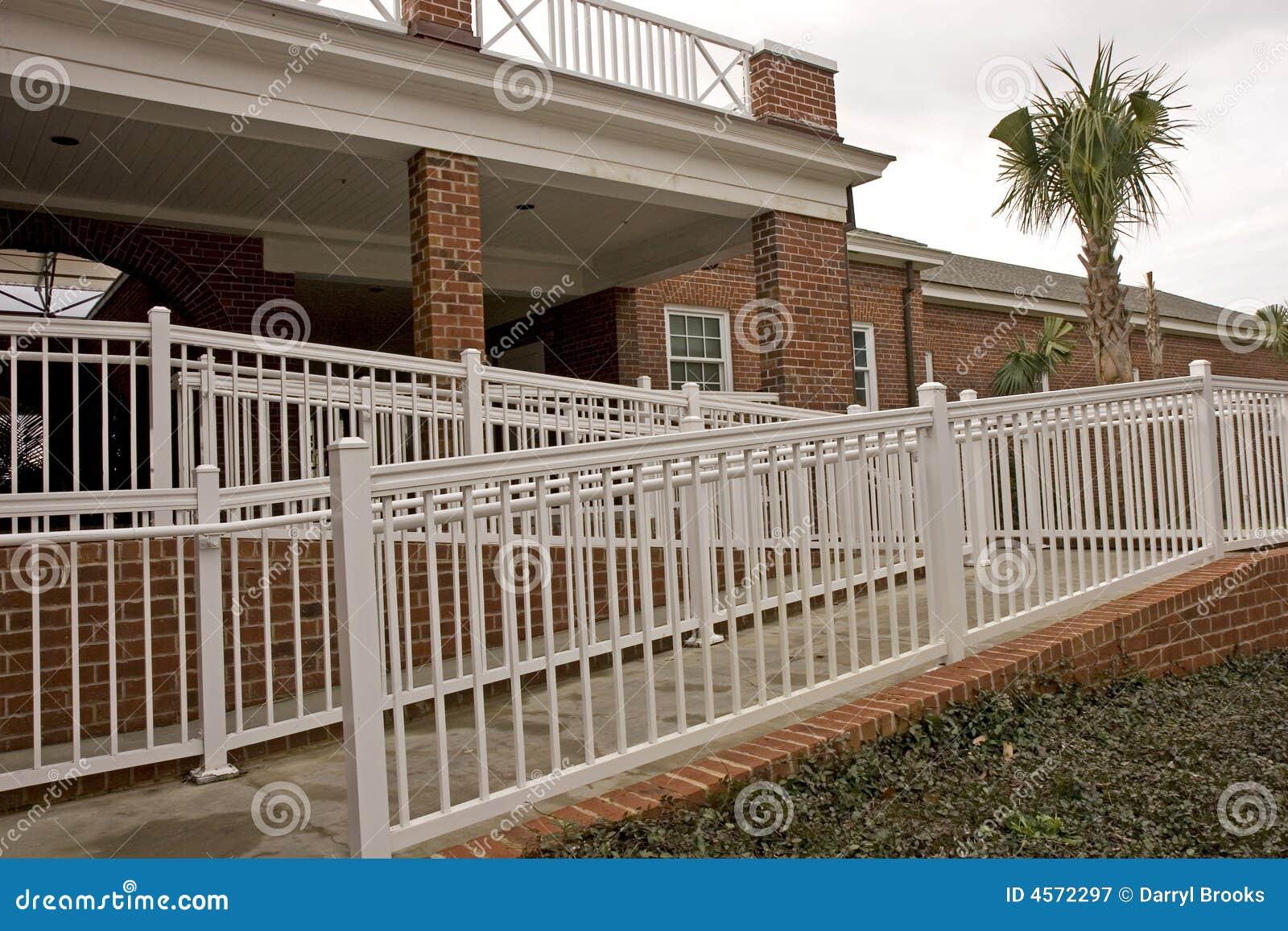 brick handicap ramp stock image image of ramp disability 4572297. Black Bedroom Furniture Sets. Home Design Ideas