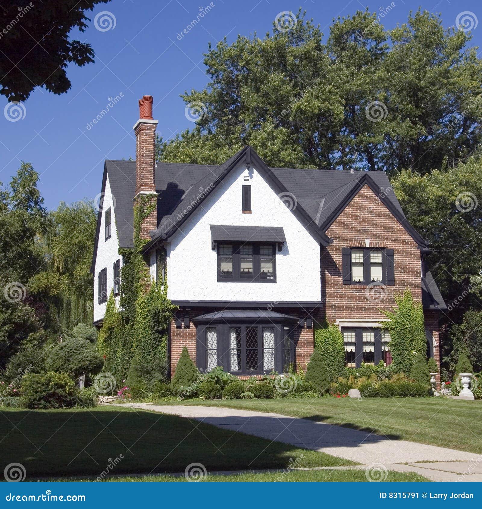 Brick home masonry upscale