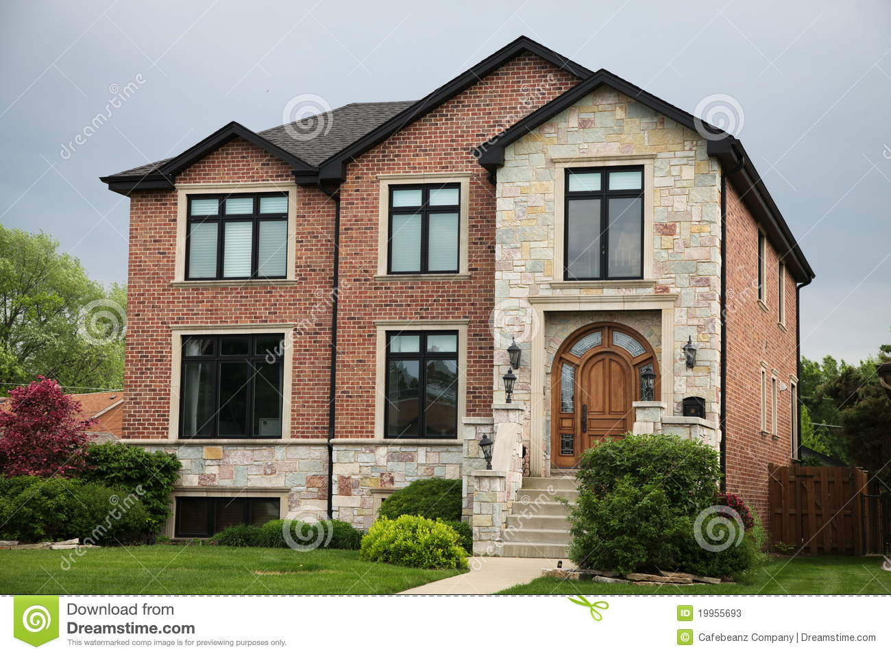Brick House Stock Image Image Of Large Brick Bankowned