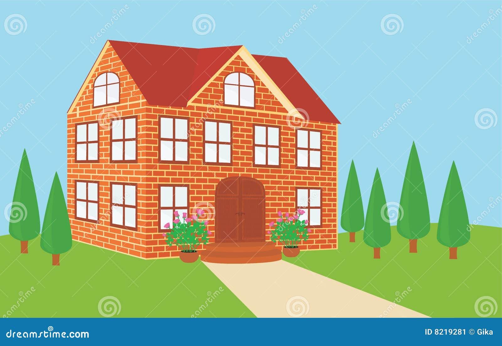 home cartoon brick - photo #8