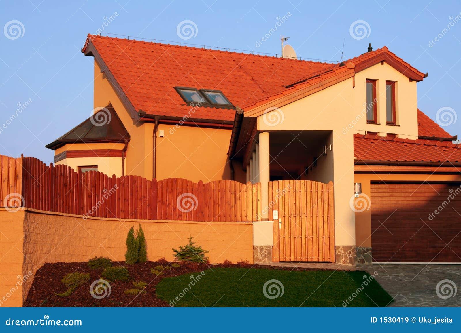 brick luxury home