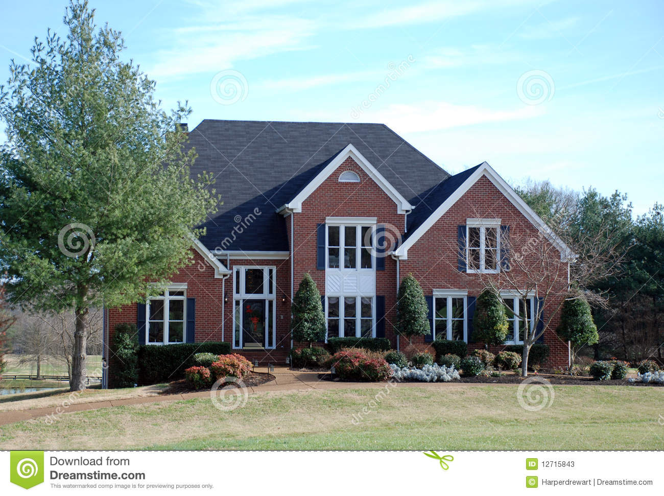 Brick Luxury Home 39