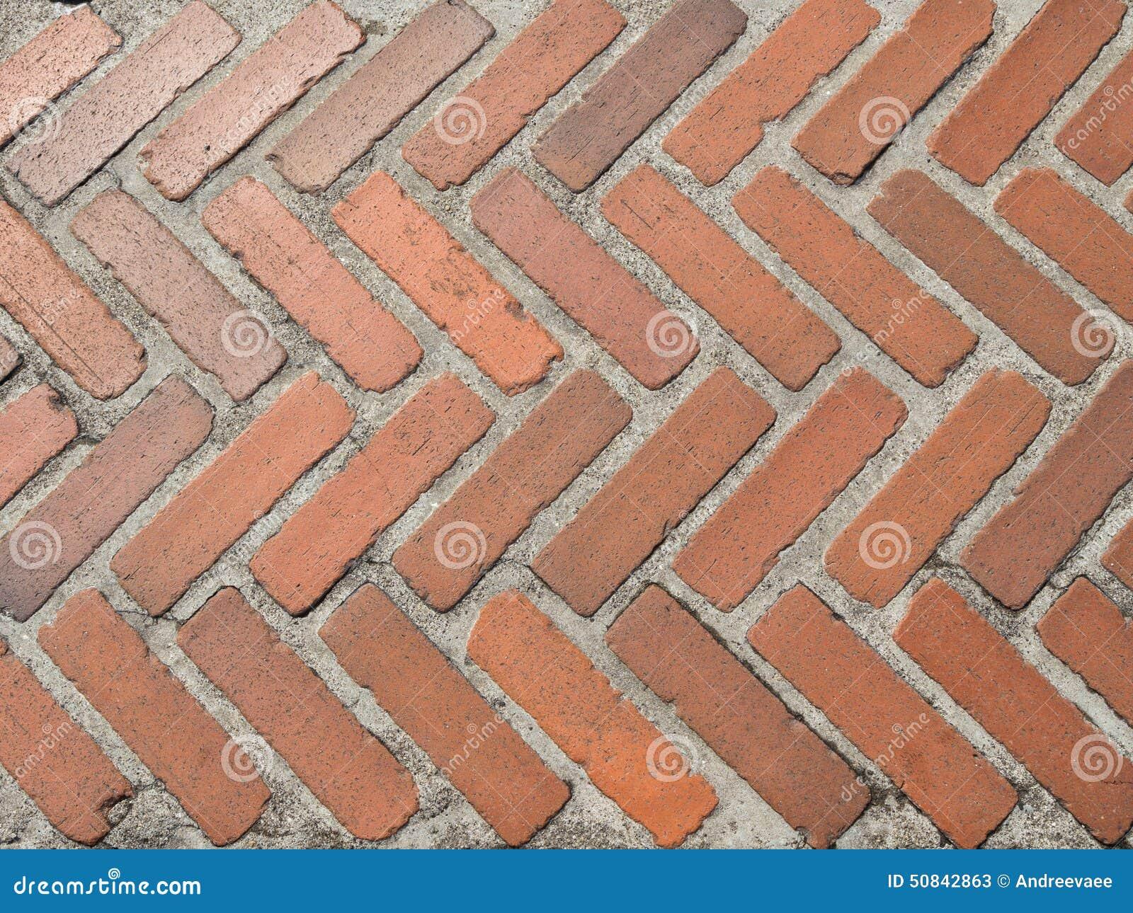 Brick path stock image. Image of rural, construction - 50842863