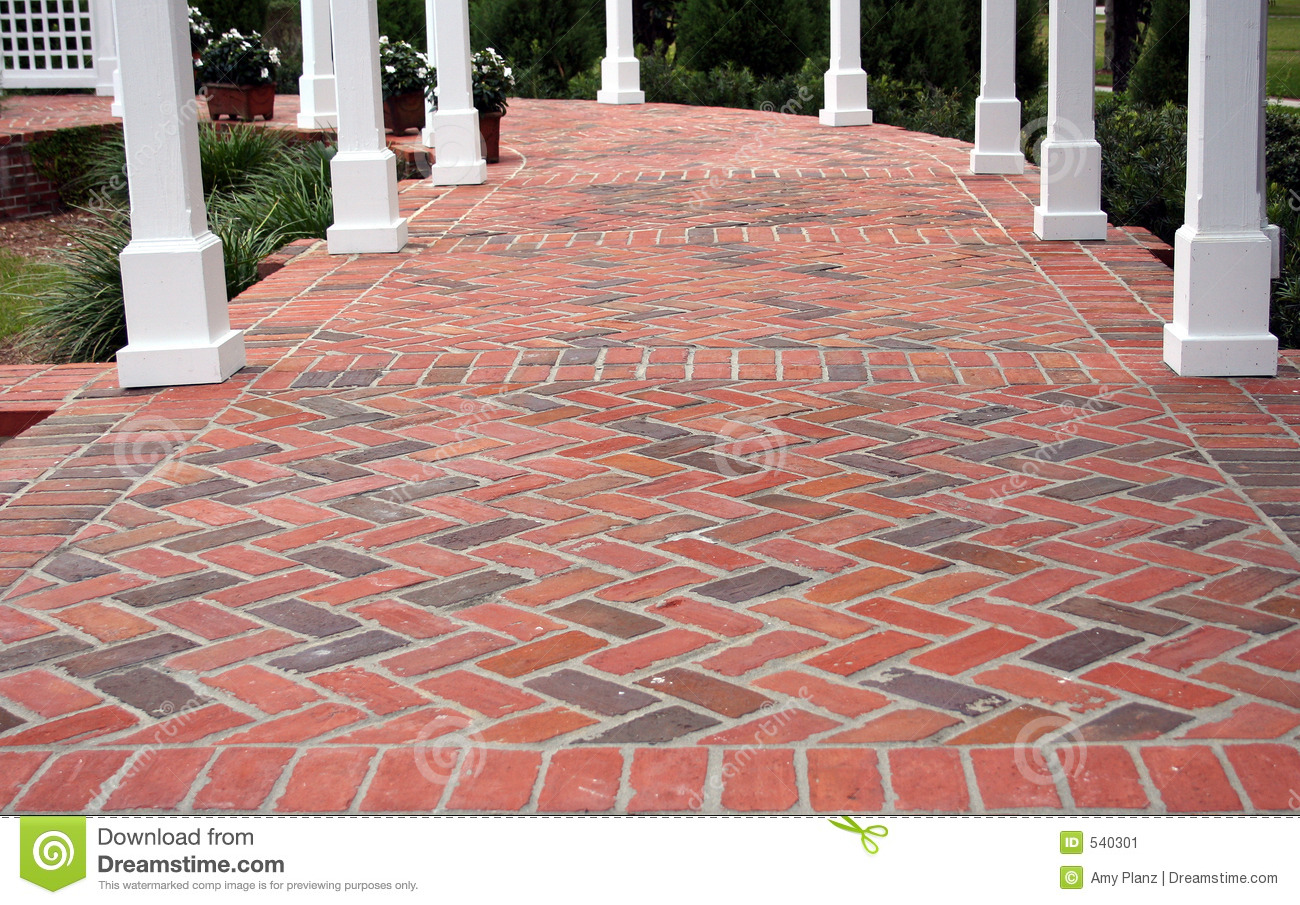 Brick patio stock image image 540301 - Ladrillo paves ...