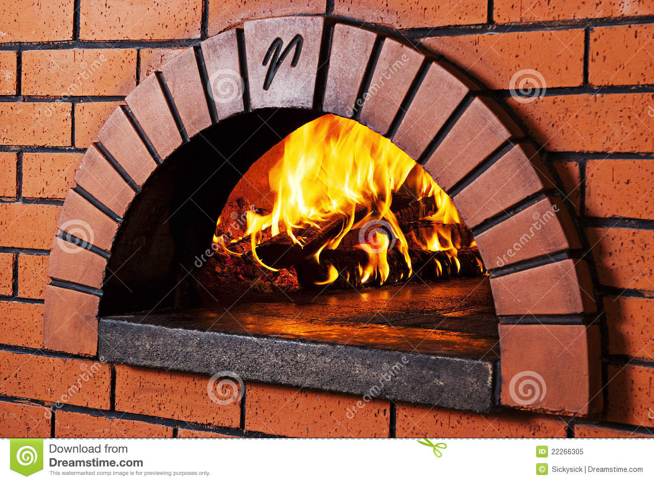 how to cook in a brick pizza oven