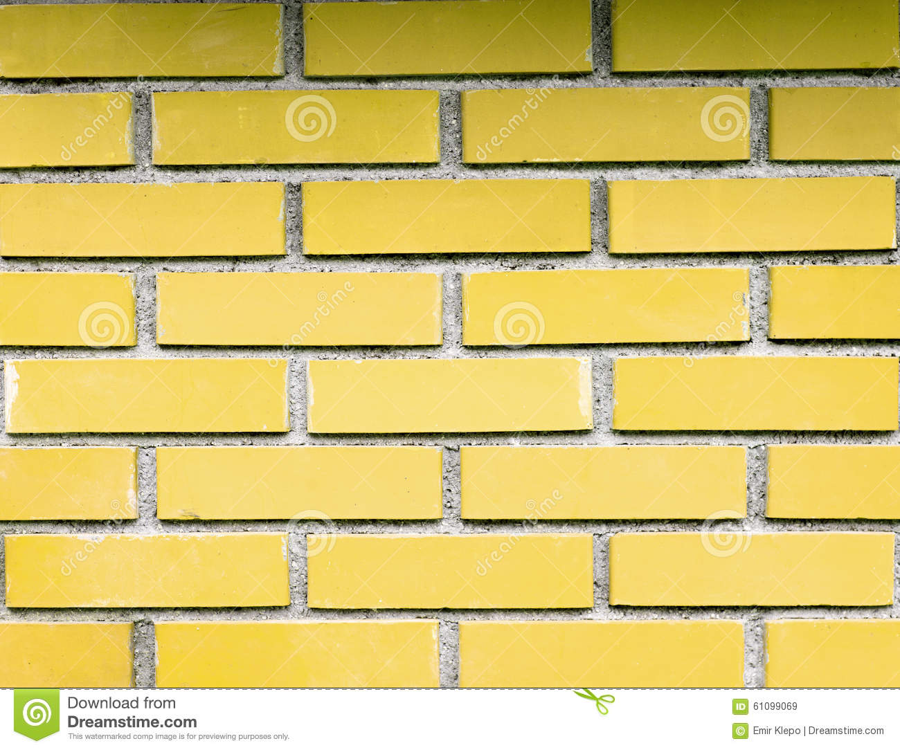 Brick Presented On A Different Way Stock Image - Image of decoration ...