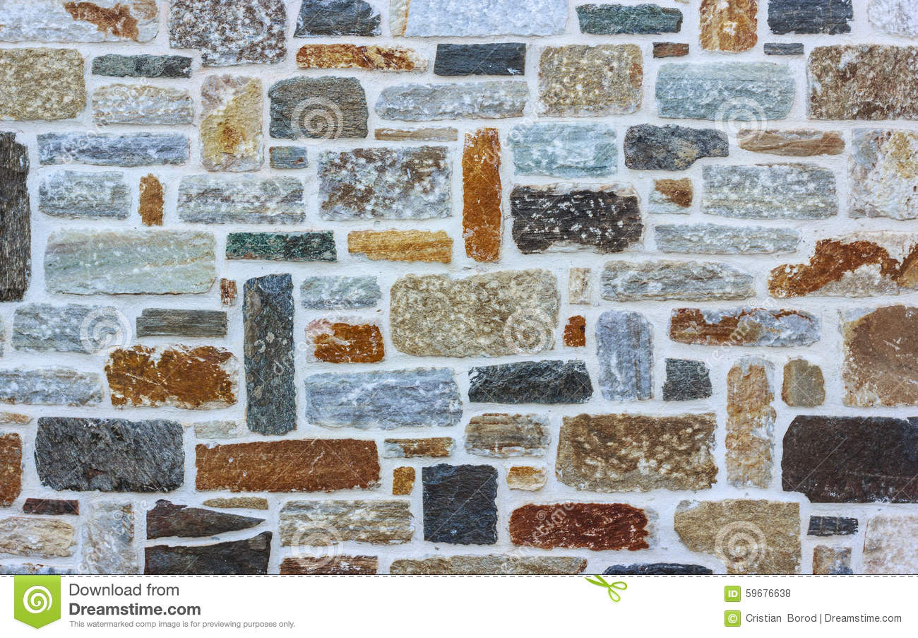 Brick Stone wall texture background