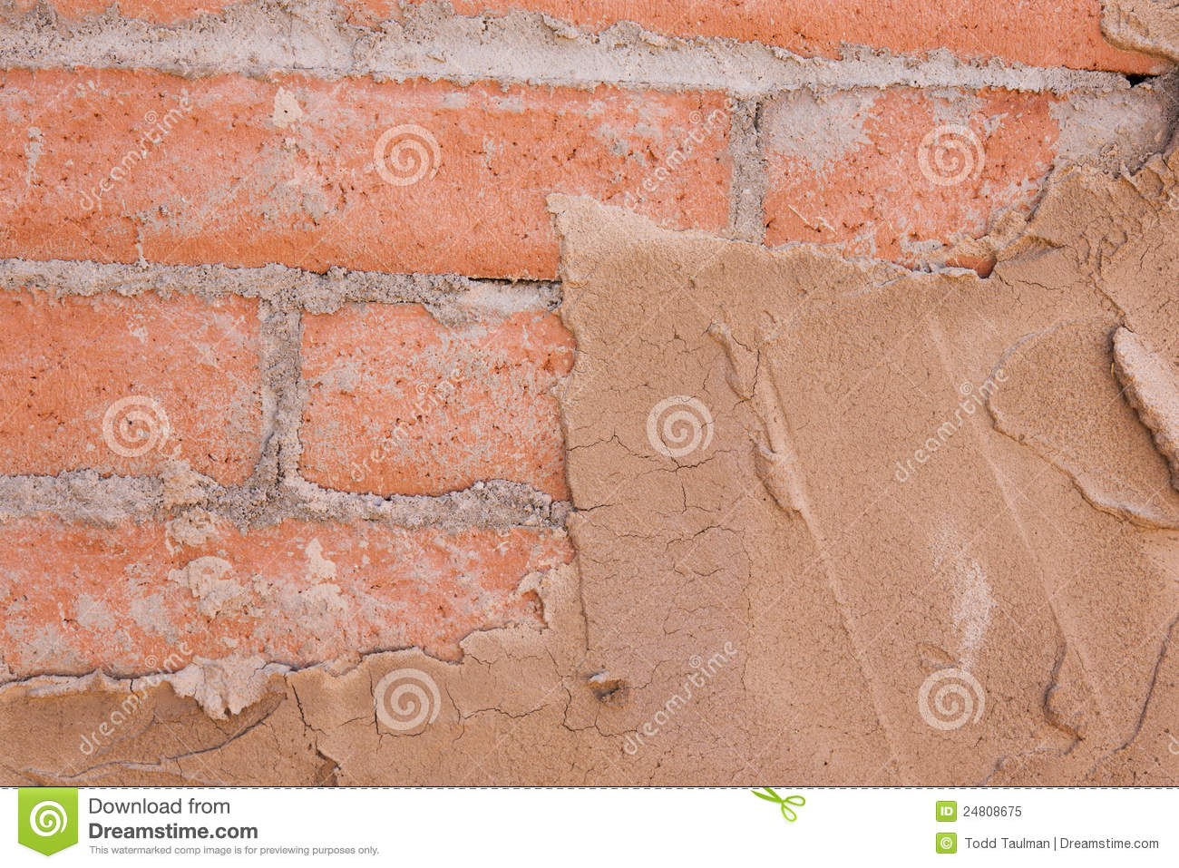 Brick And Stucco Texture Royalty - 262.9KB