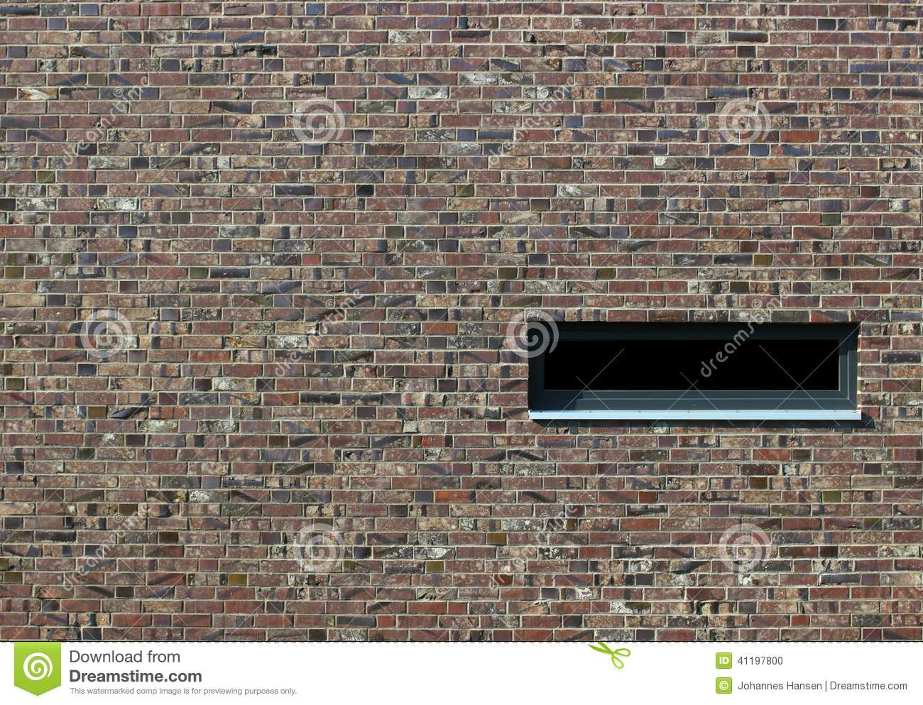 Brick texture with window stock photo image 41197800 for Brick types and styles