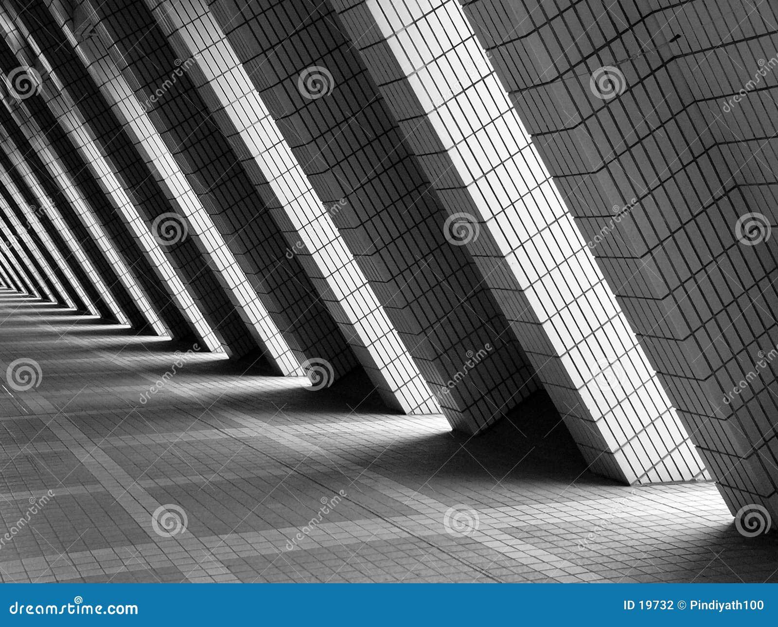 The brick walkway architecture pattern