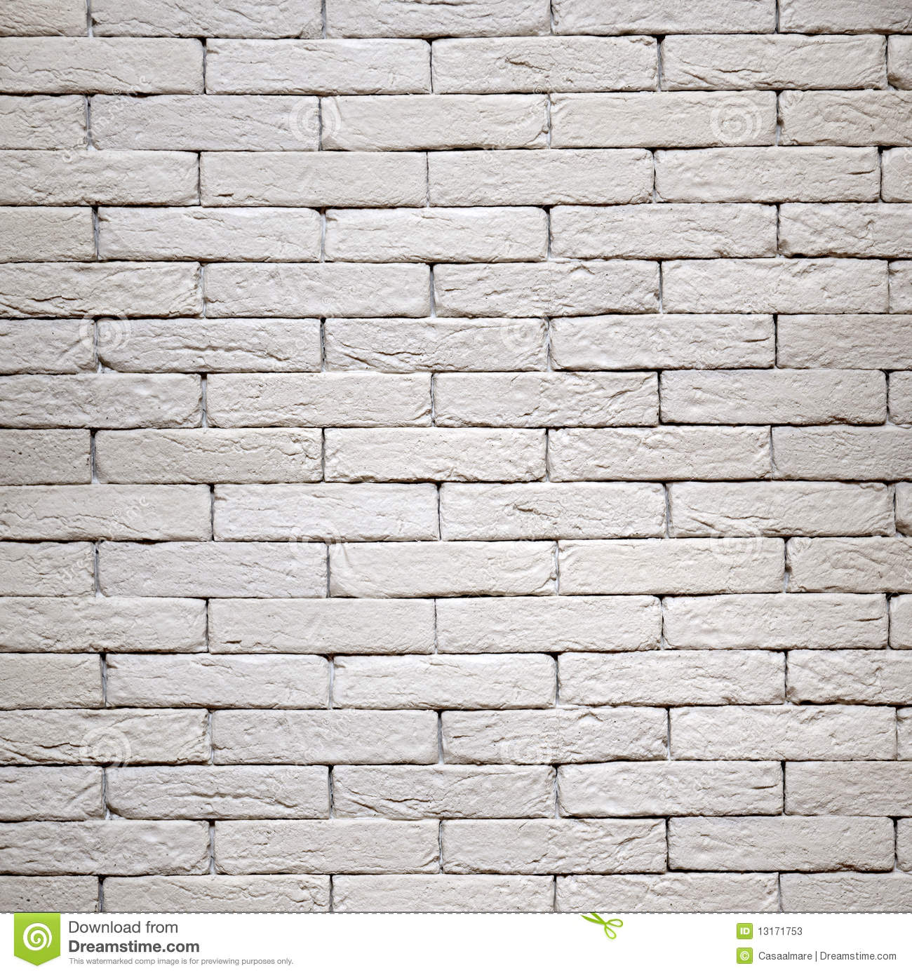 White brick wall texture. relief structure.