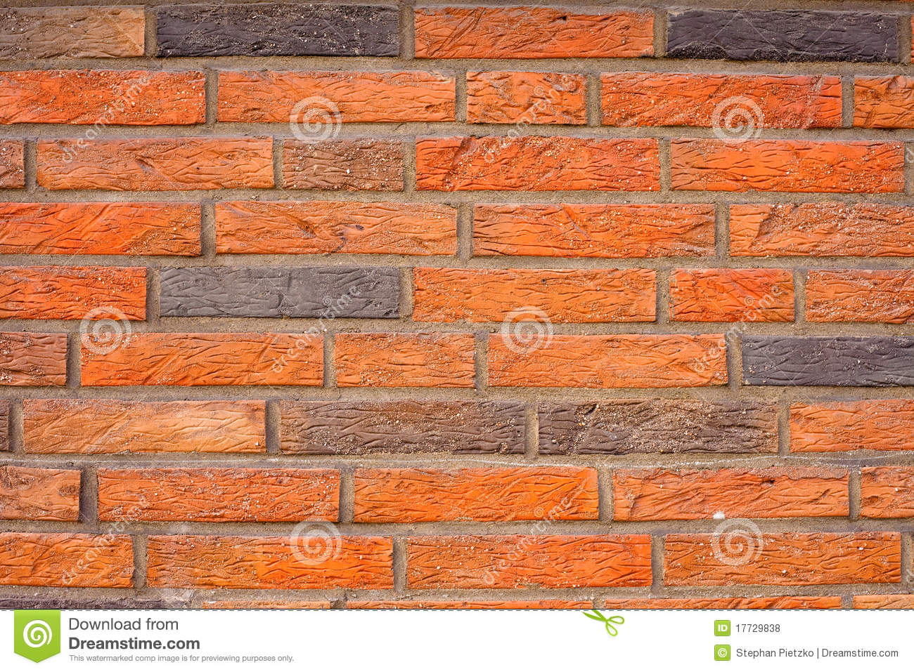Brick wall background texture pattren royalty free stock for Exterior brick design patterns