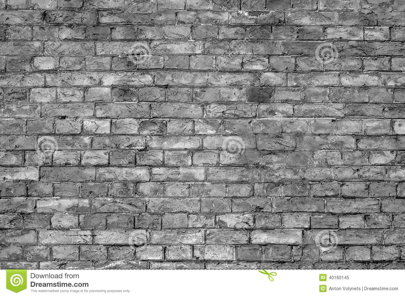 Brick wall black and white stock image image 40160145 - Pared ladrillo blanco ...