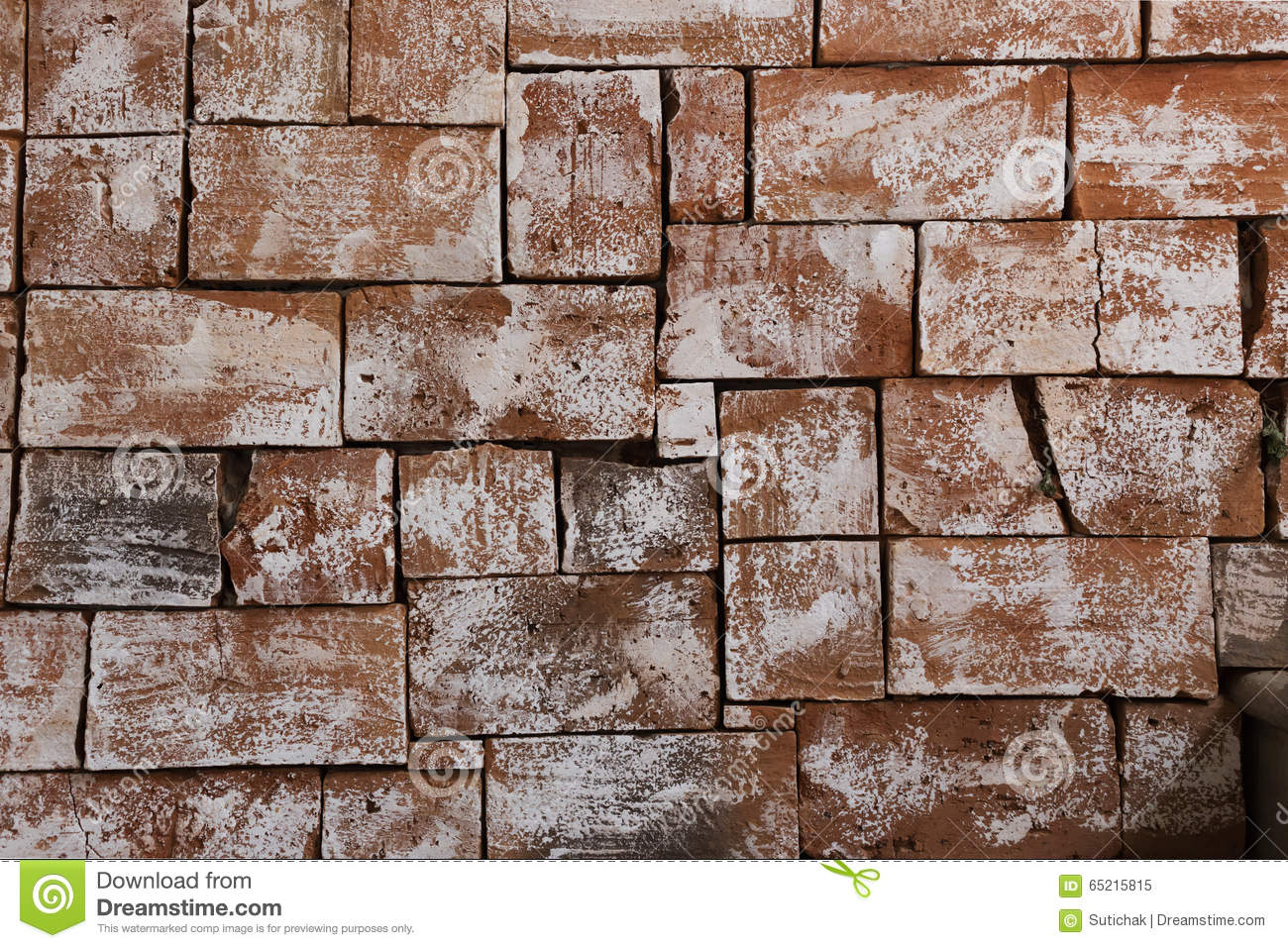 brick wall design of interior wallpaper stock photo - Brick Wall Design