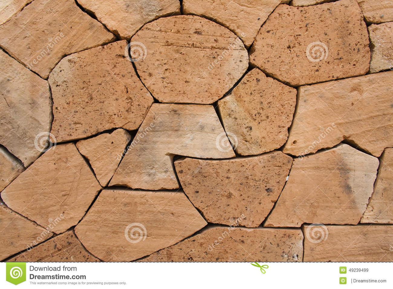 brick wall design shape