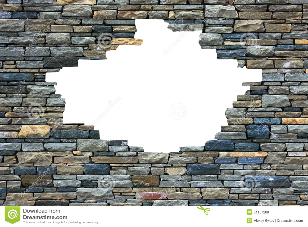 Brick wall frame. stock photo. Image of copy, poster ...