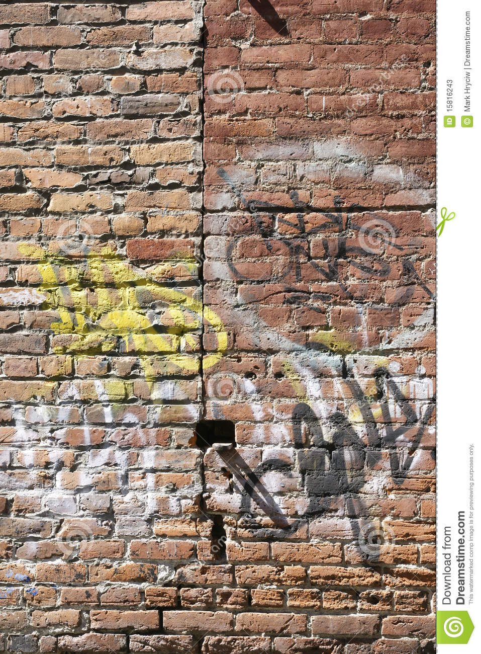 brick wall graffiti brick wall graffiti stock photos image 15816243 180