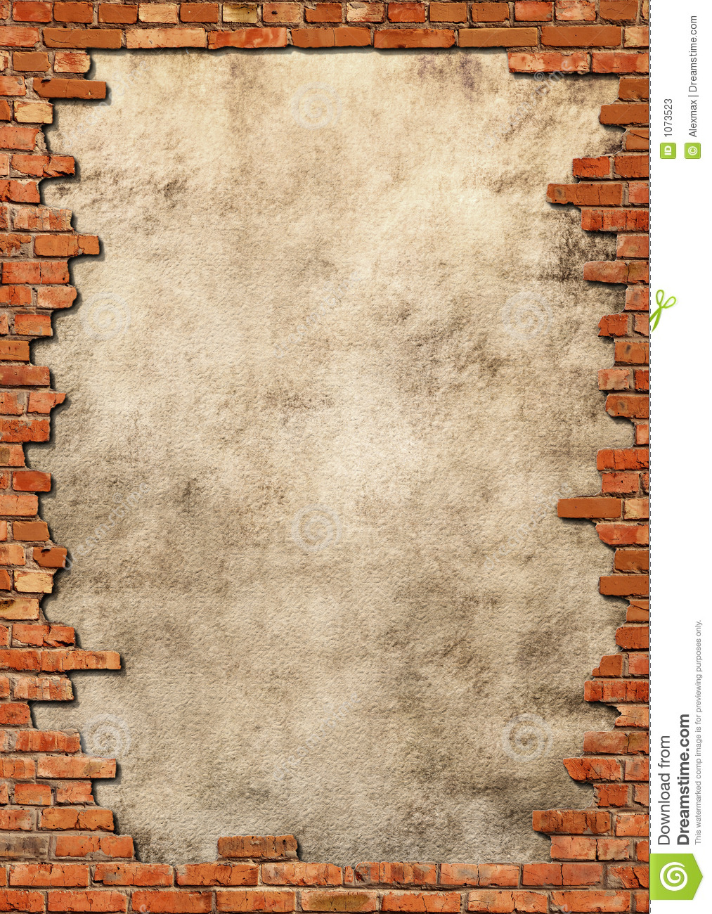 Brick Vector Picture Brick Veneers: Brick Wall Grungy Frame Stock Photos
