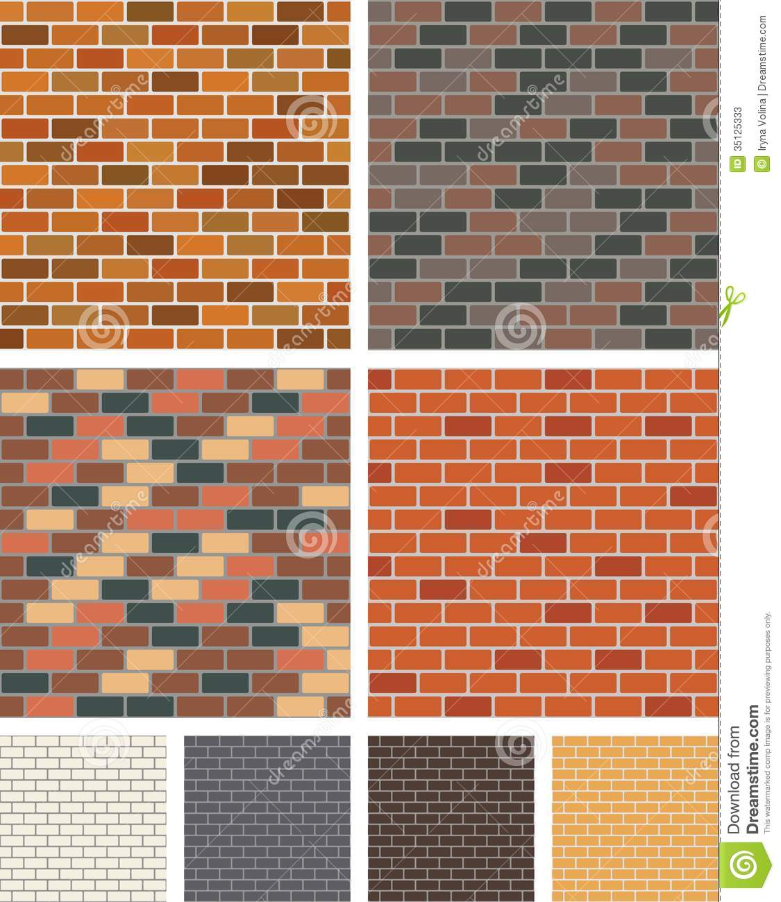 Brick Wall Stock Photos Image 35125333