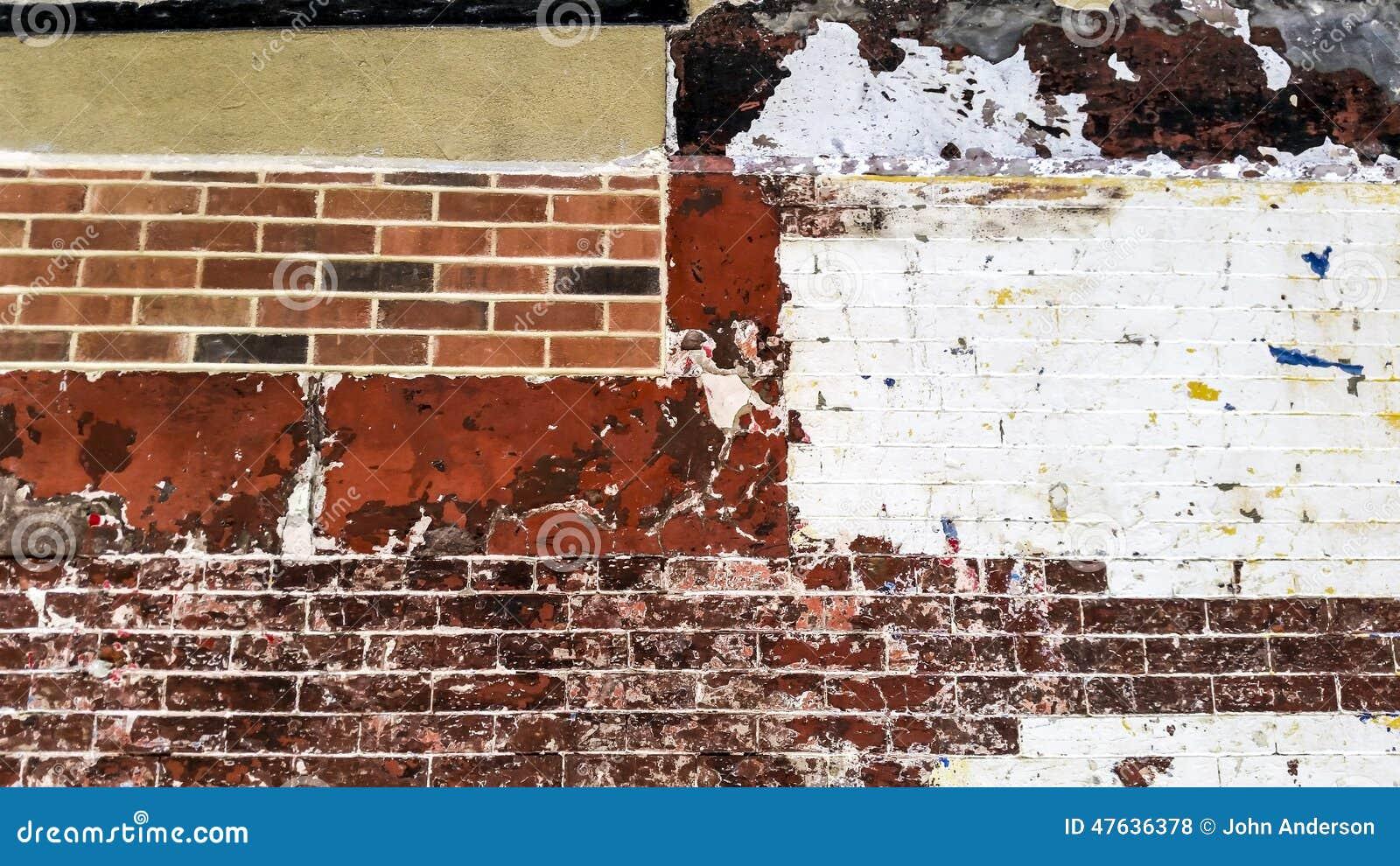 Brick Wall New York City Stock Photo - Image: 47636378