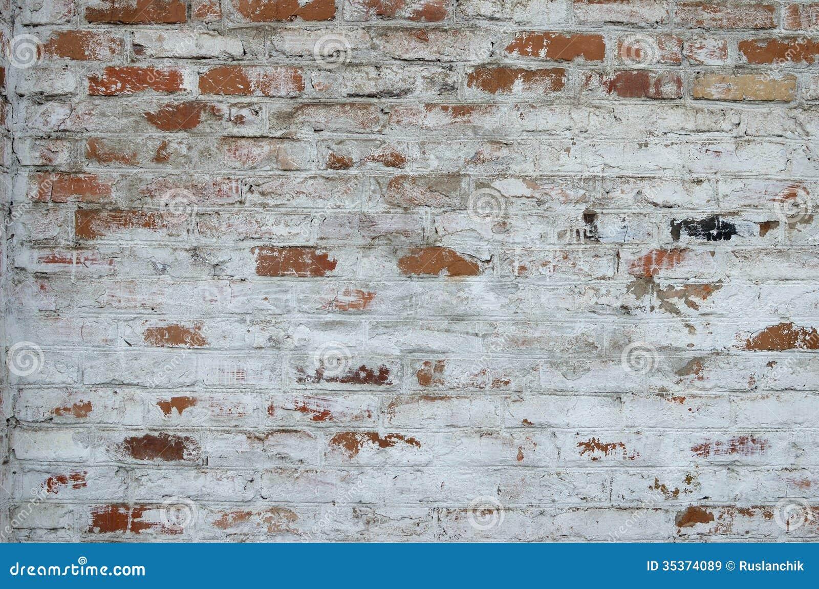 Brick wall. Brick wall stock image  Image of mortar  paint  brick   35374089