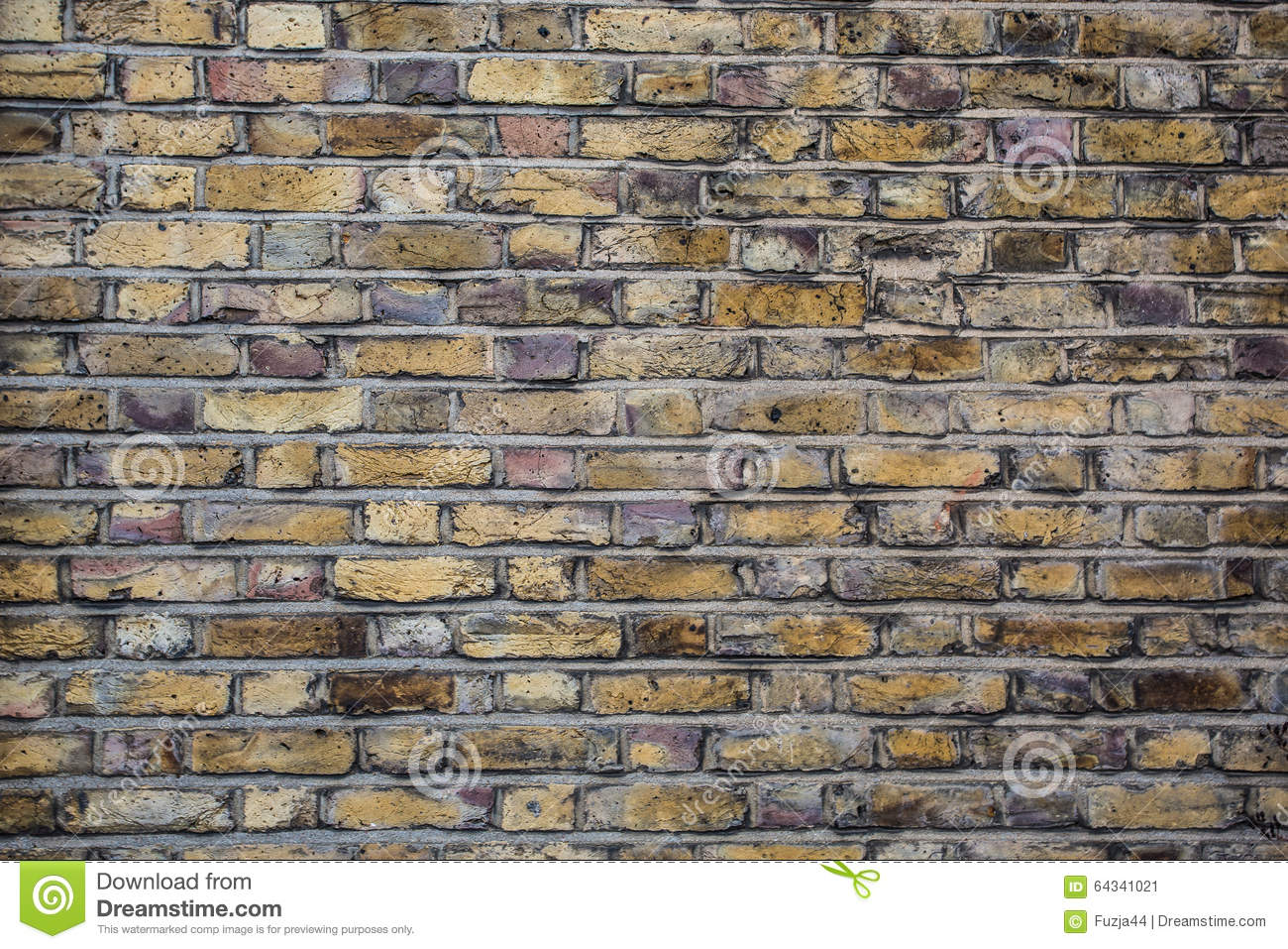 Brick Wall With Peeling Paint Background Texture Stock Image Image 64341021