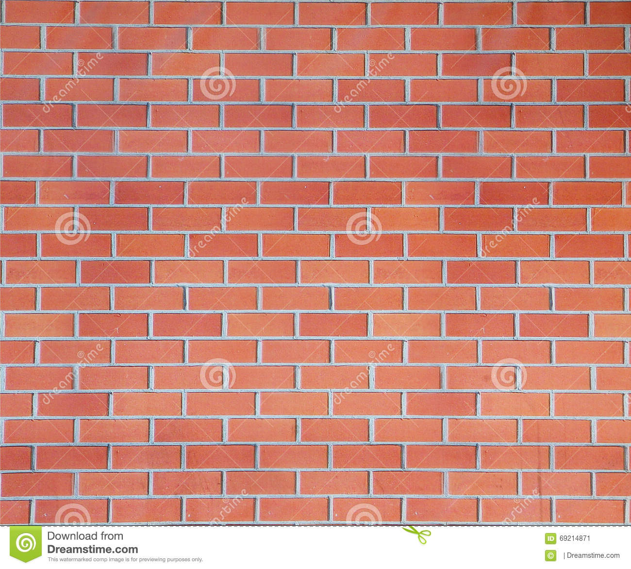 Brick wall stock image. Image of exterior, color, house - 69214871