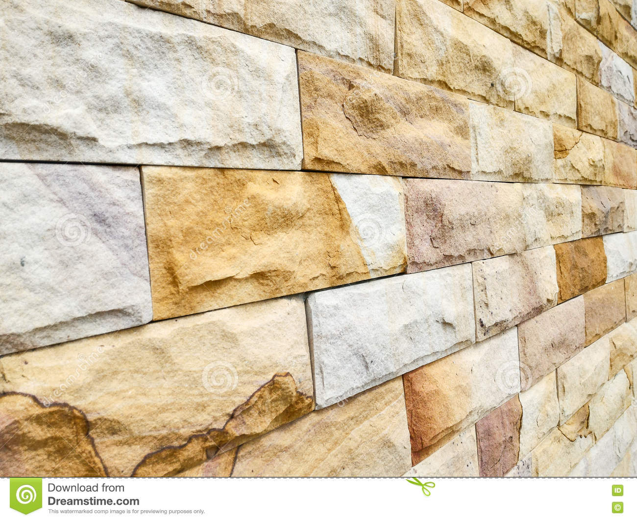 Brick wall stock image. Image of garden, abstract, building - 77351613