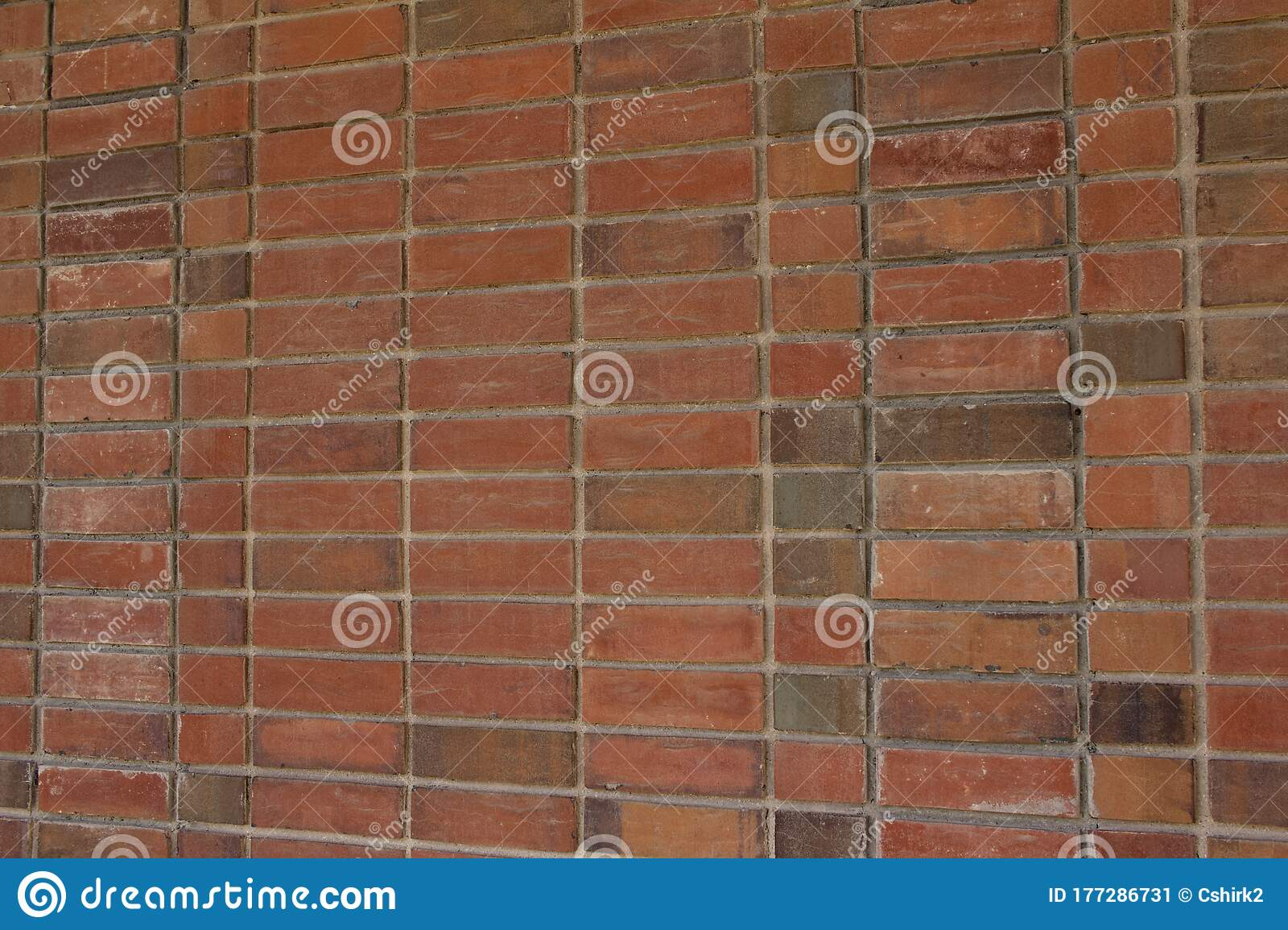 Brick Wall Texture Background With Red And Brown Bricks In A Stack Bond Pattern Stock Image Image Of Bricks Close 177286731