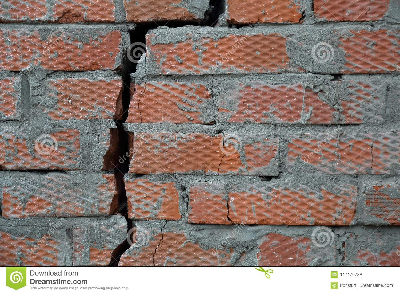 Brick Wall Texture Stock Photo Image Of Decor Solid 117170738