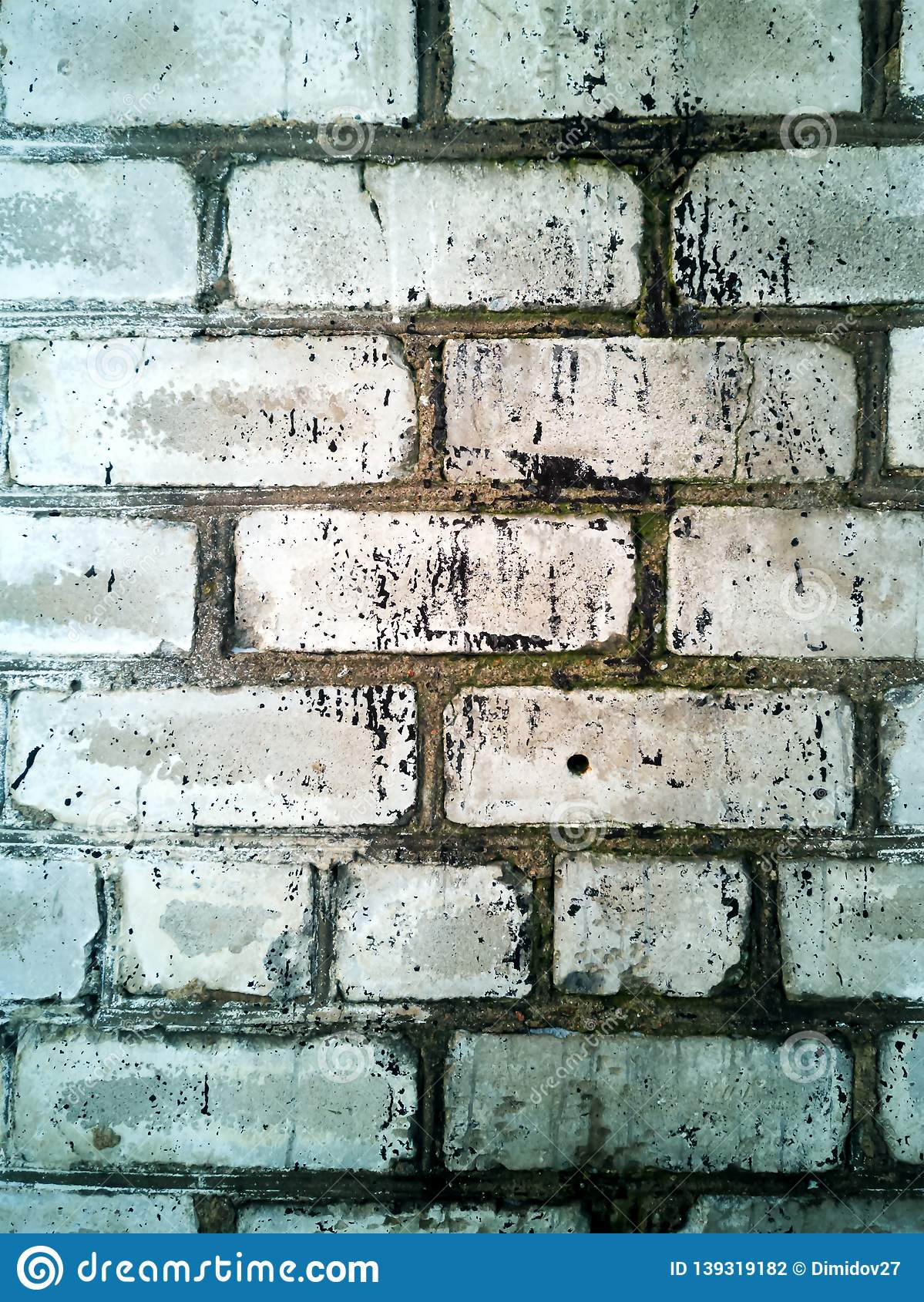 Brick Wall Texture Wall Background Stock Illustration