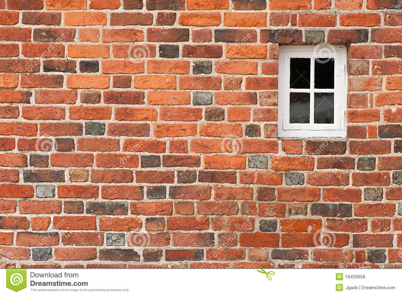 how to build a window in a brick wall
