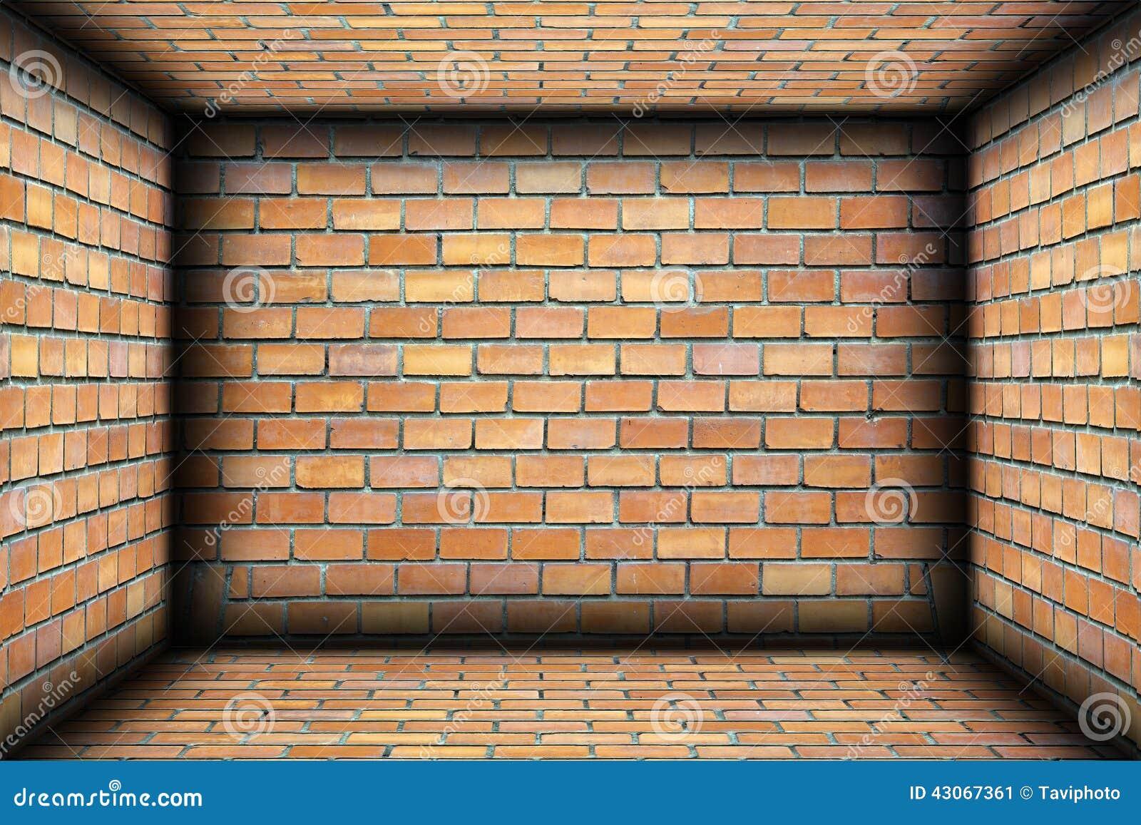 brick walls. Brick Walls On Interior Architectural Backdrop