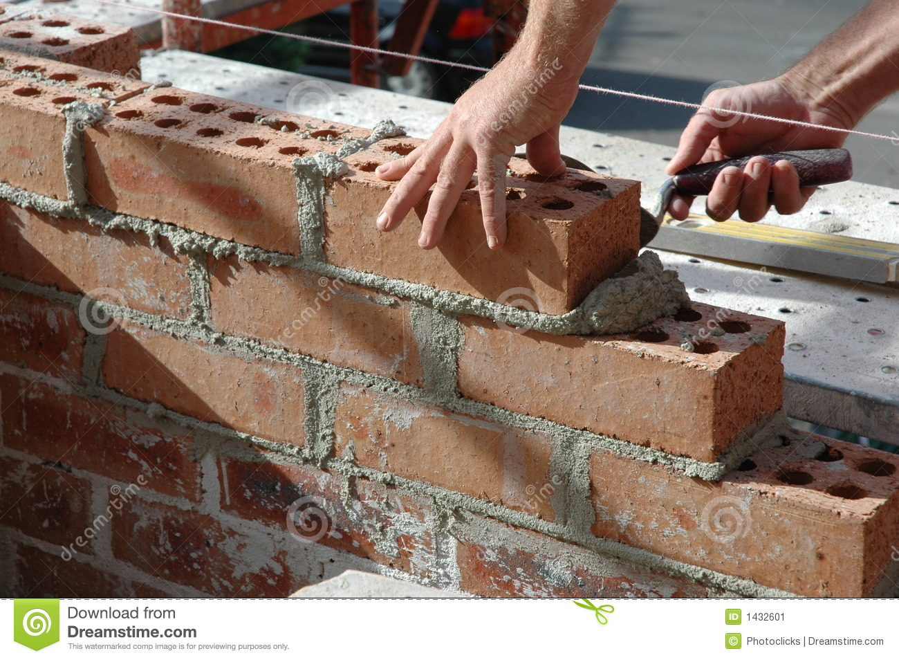 Bricklayer Stock Image - Image: 1432601