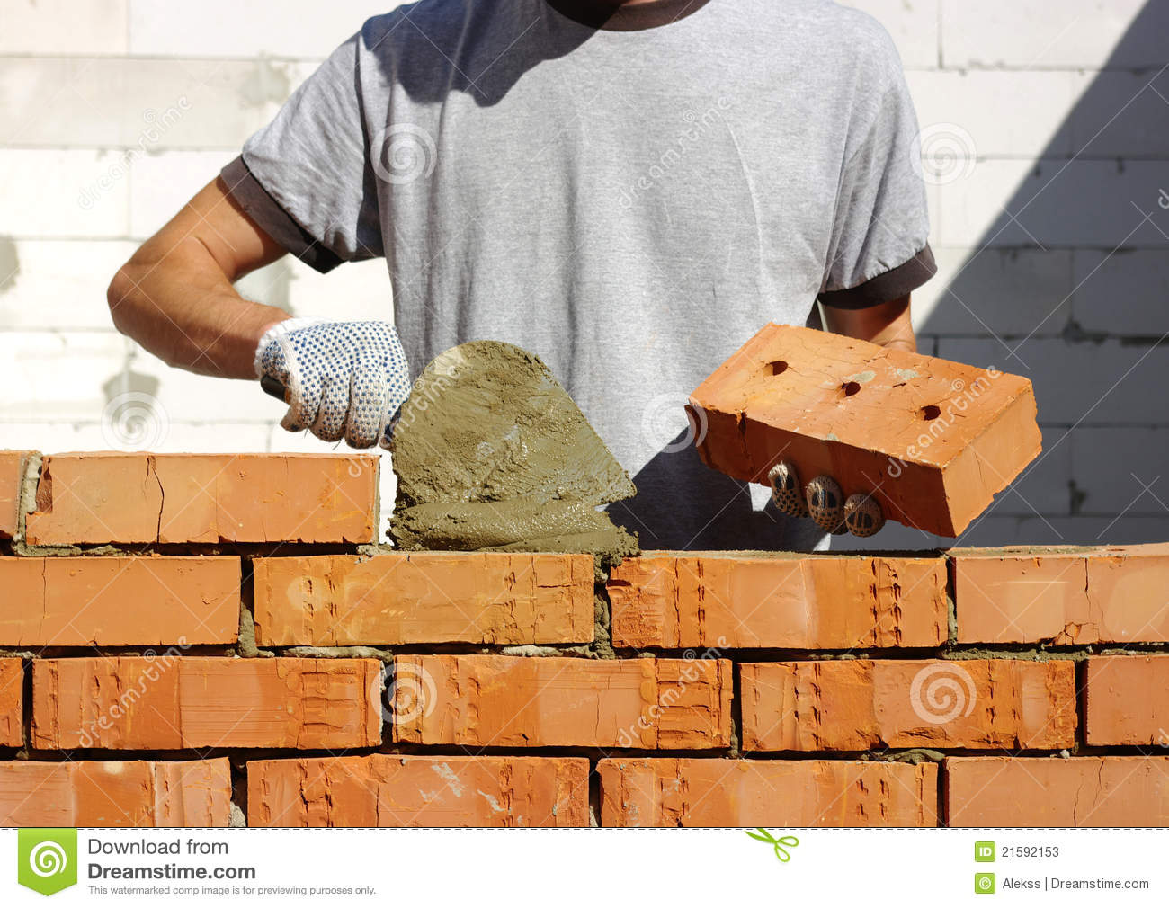 Bricklayer Stock Photos Image 21592153