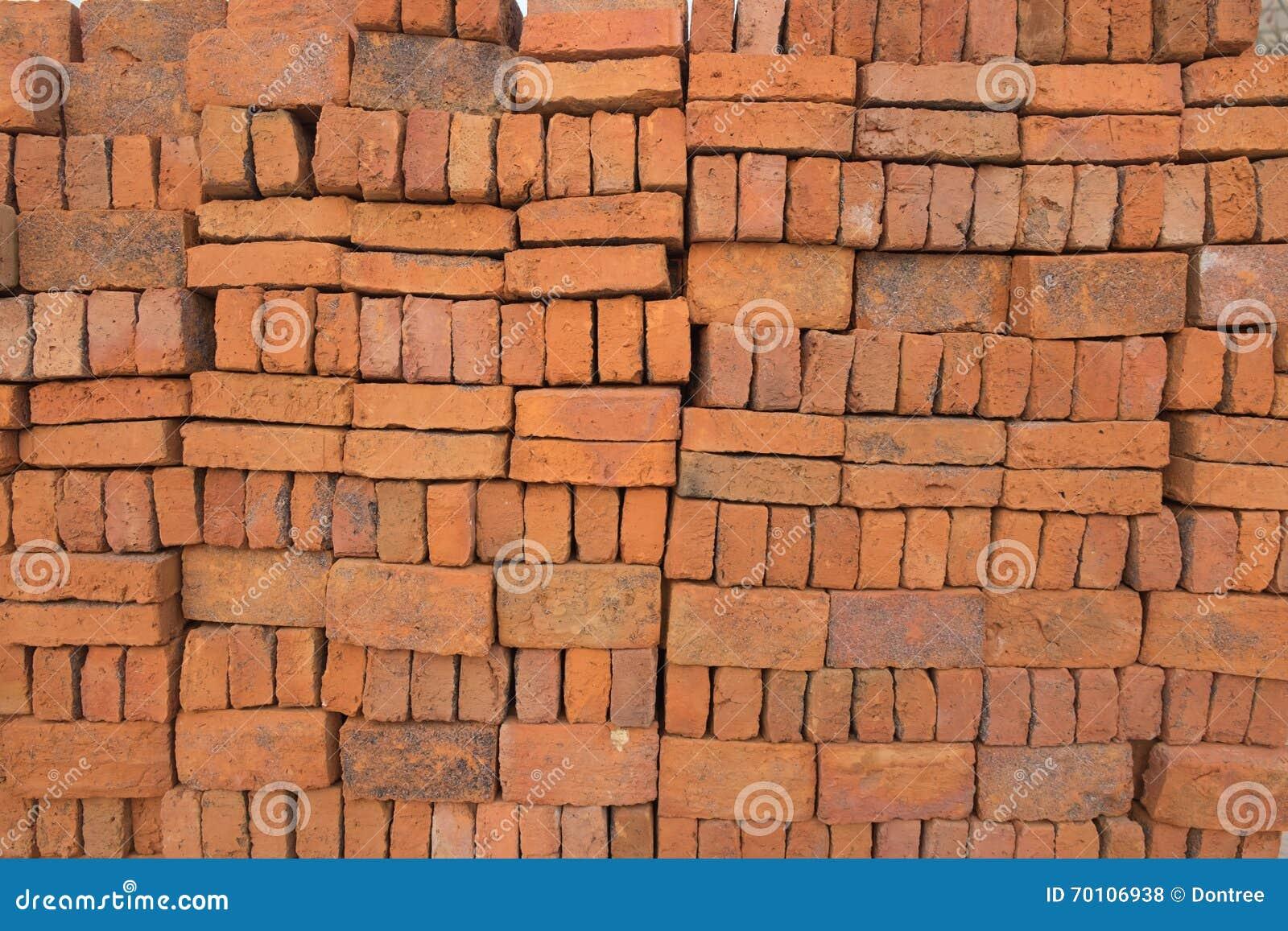 Bricks stacked /Bricks background