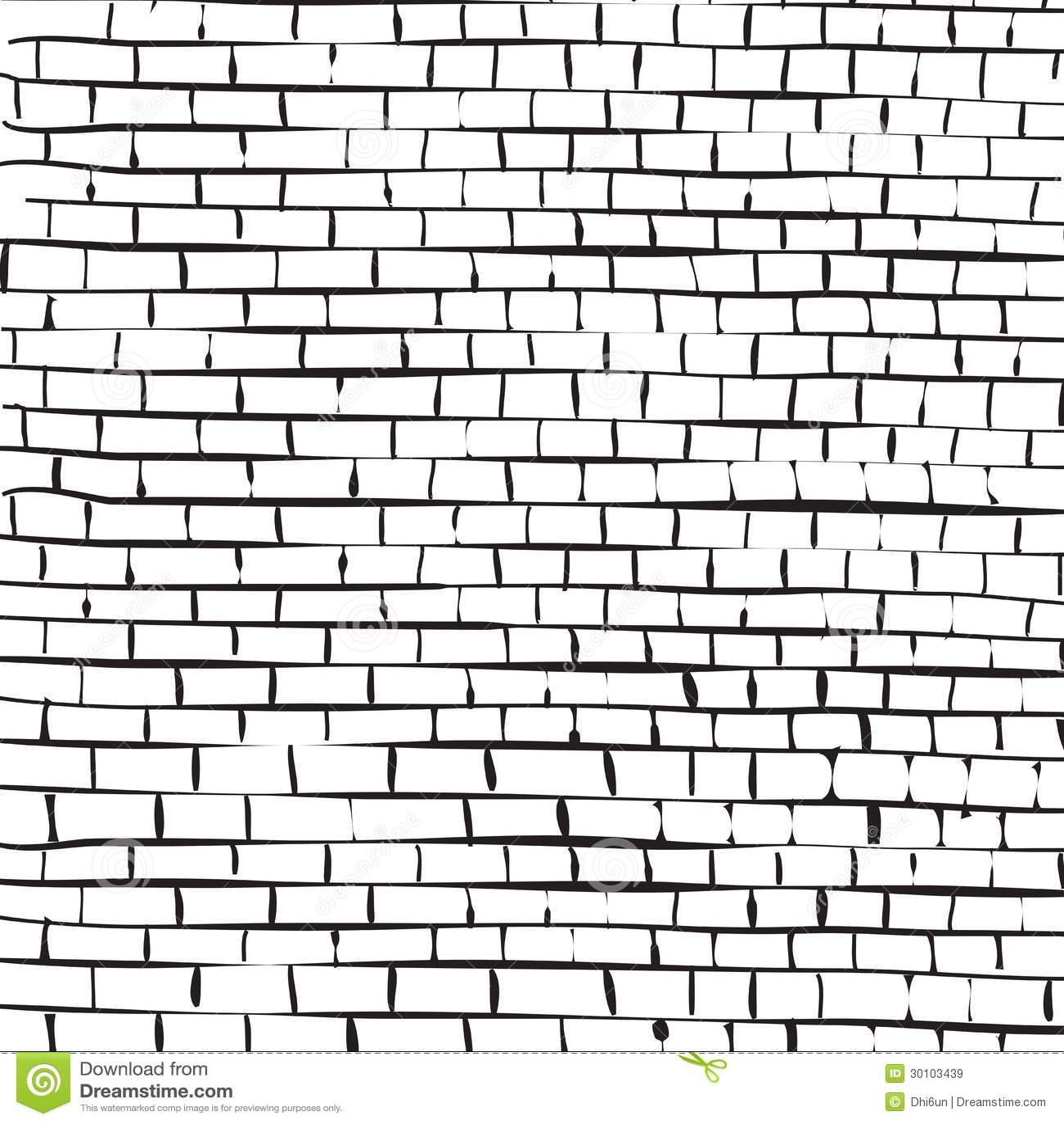 Как нарисовать кирпичную стену