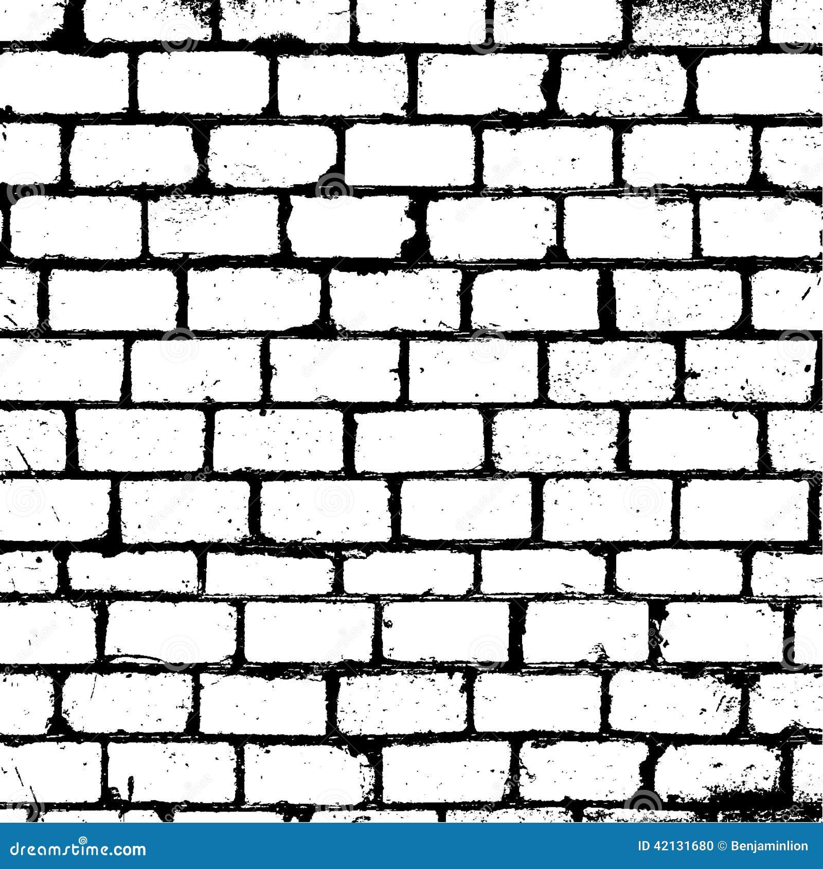 Brickwall Overlay Texture Stock Vector - Image: 42131680