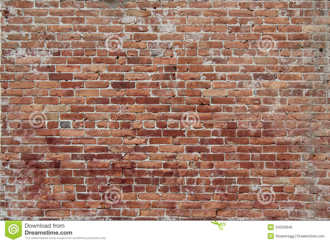 Rustic Brick Wall Decor : Brickwork royalty free stock image