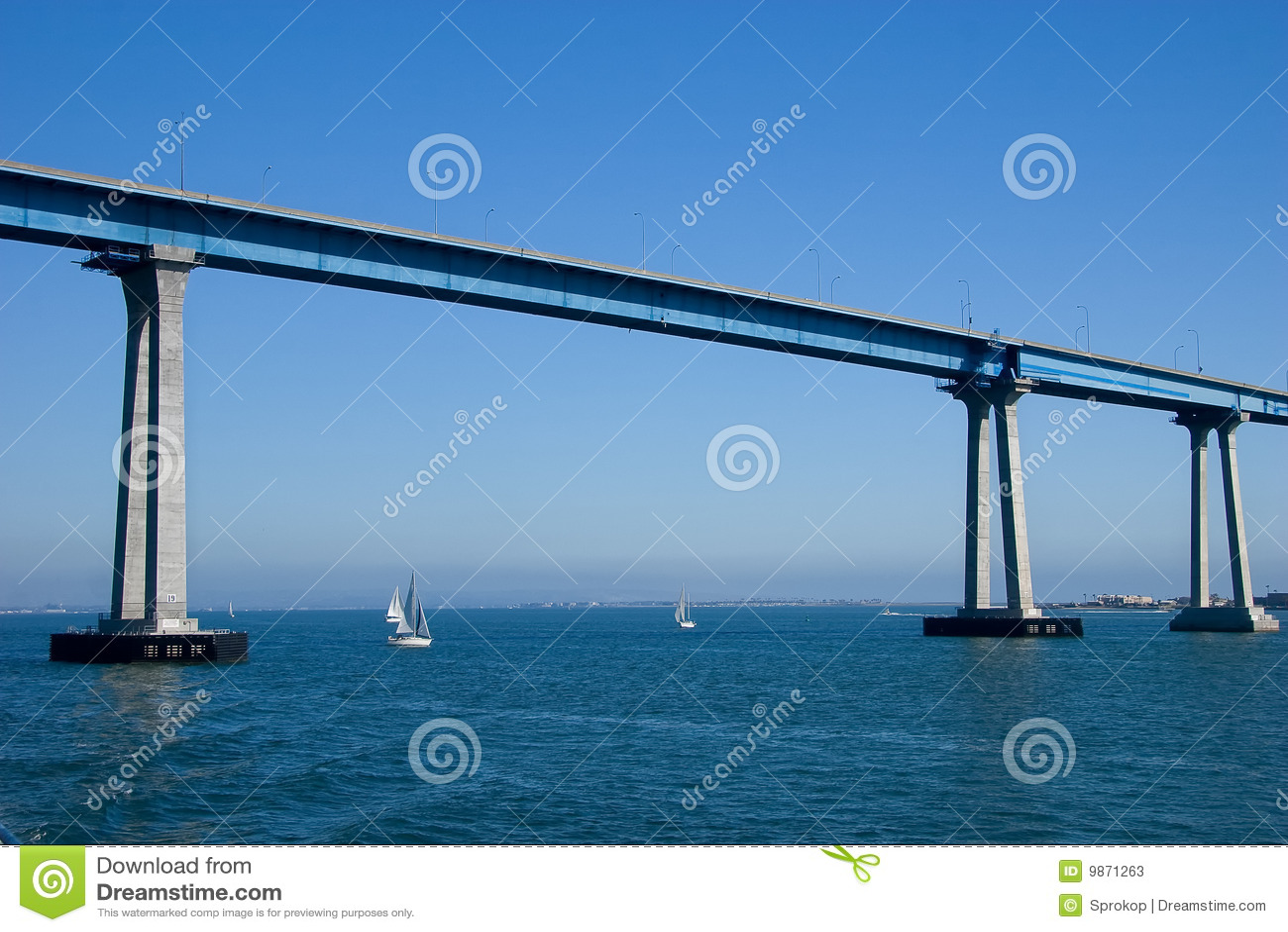 Bridżowy coronado Diego San