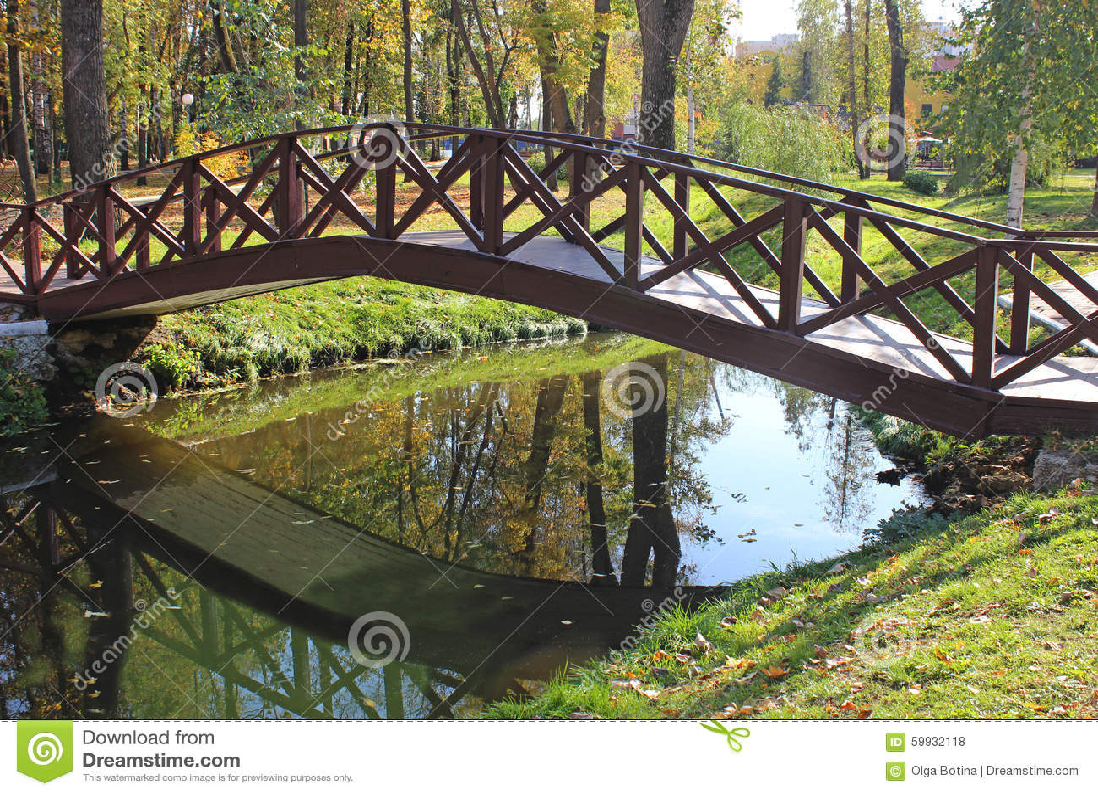 Bridżowy Parkowy staw