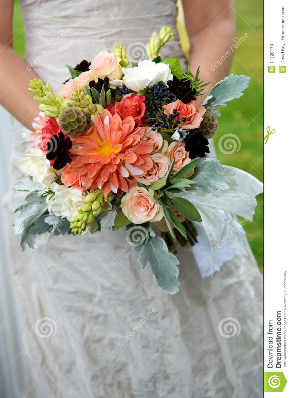 Wedding Bouquets Variety : Bridal bouquet stock photo image