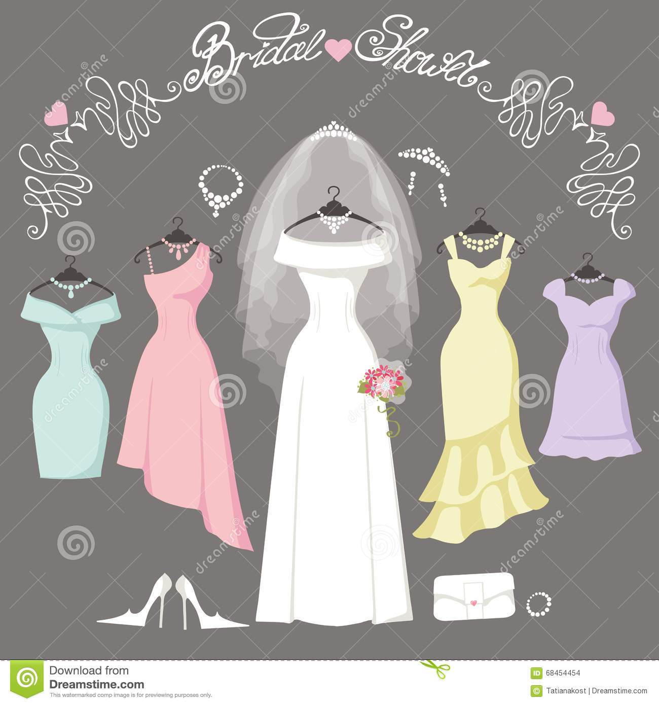Bridesmaid Cartoons, Illustrations & Vector Stock Images
